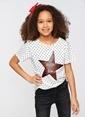 Morhipo Kids Yıldız Detaylı Tişört Beyaz